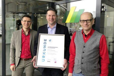 Bastian Bleeck, Mark Düren und Stefan Brunken von der bvdm
